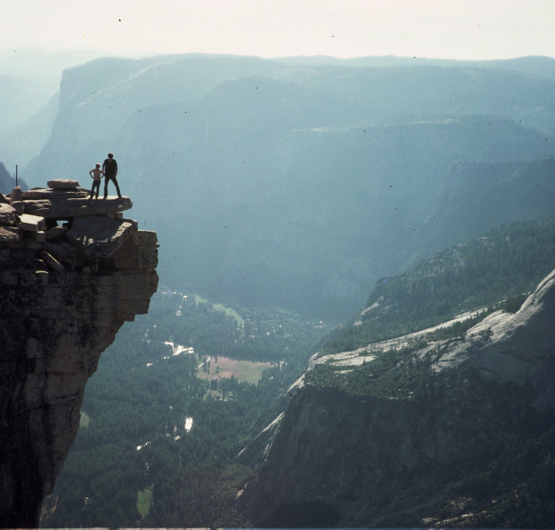 Yosemite Half dome top
